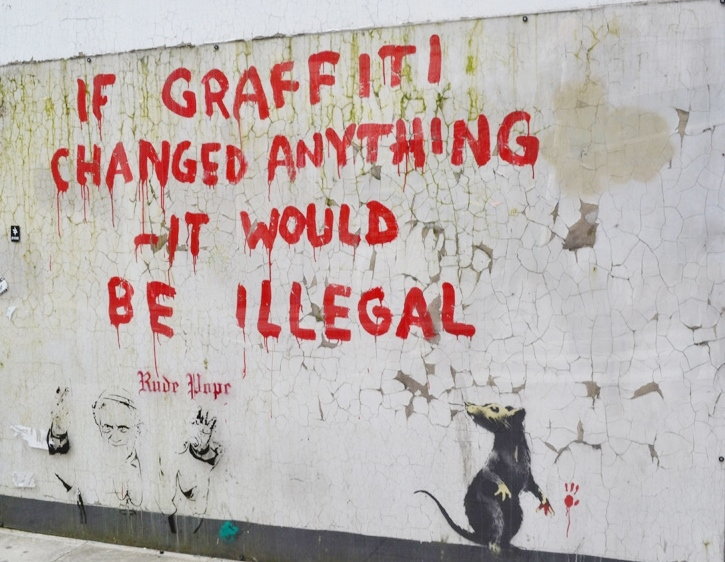 From Blogging to Banksy, it's all in the Message