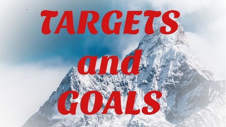 How to Achieve Success by setting Targets and Goals